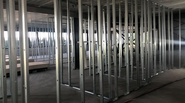Verbouwing september Open Doors kantoor