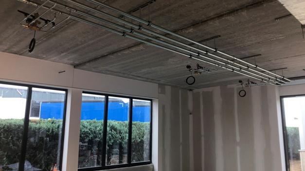 Verbouwing Open Doors kantoor oktober
